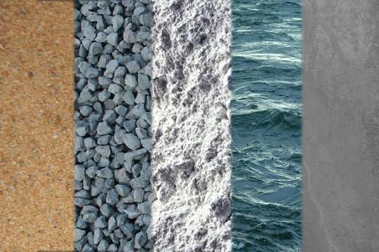 Подбора бетона оштукатуренная цементным раствором стена